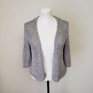Eileen Fisher Chunky Knit Viscose Cardigan M
